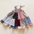 sun dress | patchwork bw floral | size 5/6y