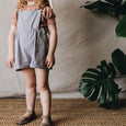 emie shortalls | railroad stripe