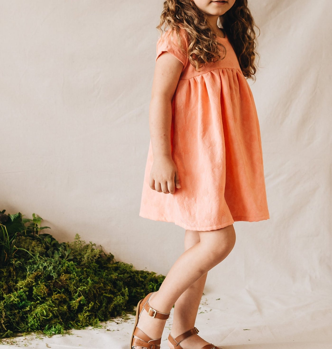 etta dress | electric melon