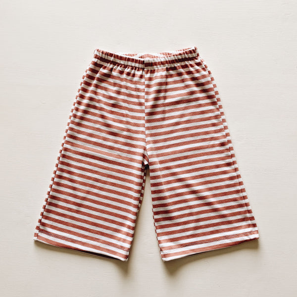 frankie pant | clay stripe
