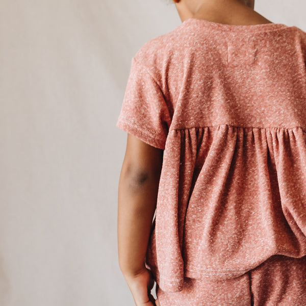 hattie tee | red clay