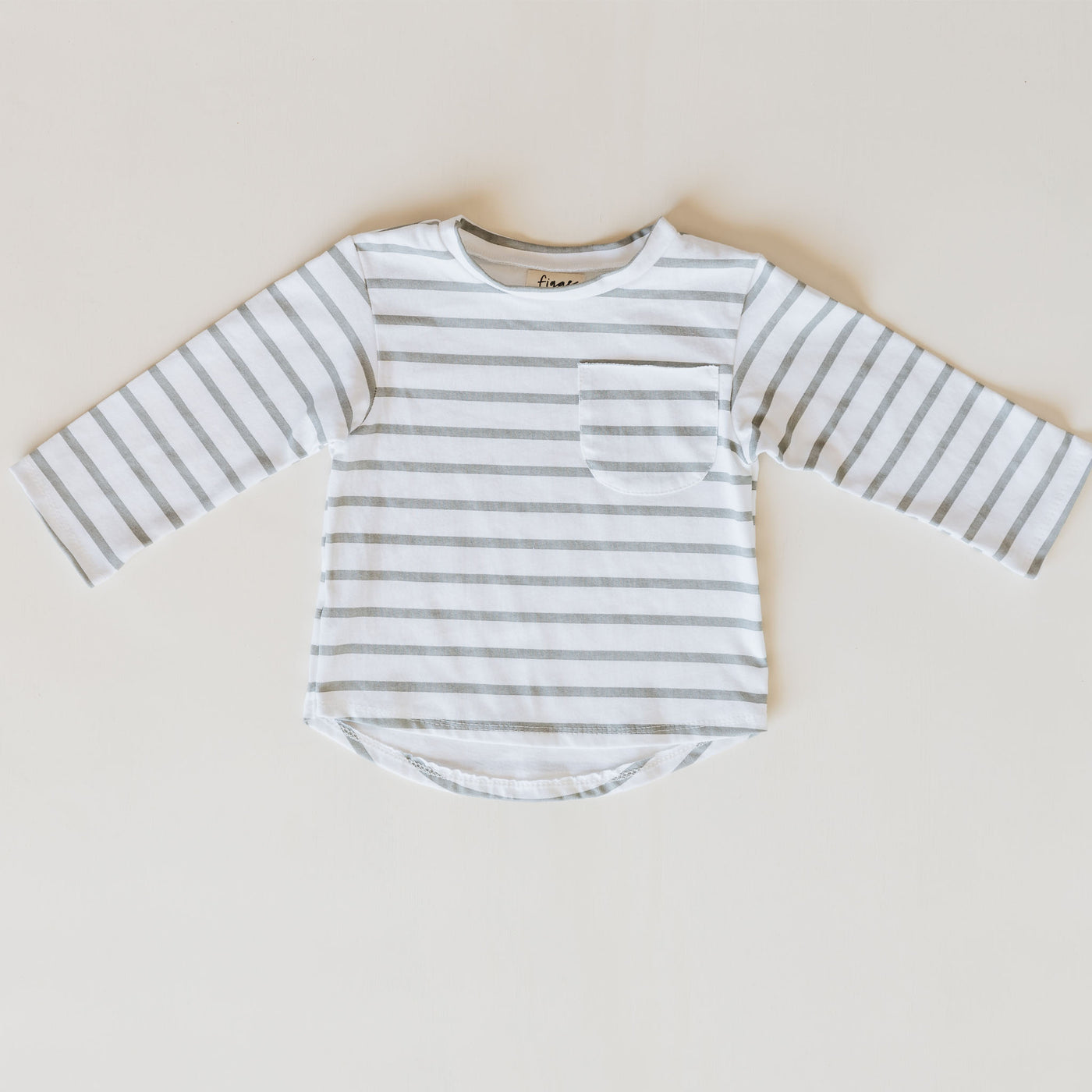 long sleeve billie tee | stripe