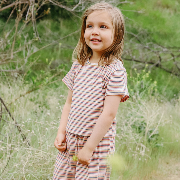 margot tee | color stripe