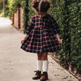 mimi dress | midnight plaid