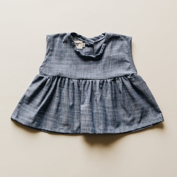 ophelia tunic | vintage denim