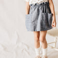 pocket prim skirt | vintage denim