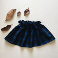 prim skirt | blueberry plaid
