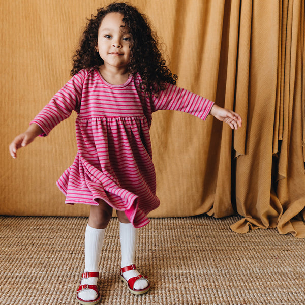 raglan dress | teaberry