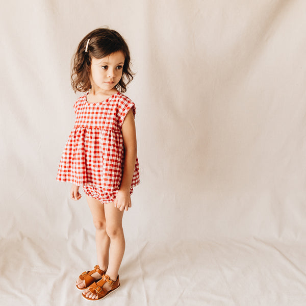 summer set | red gingham
