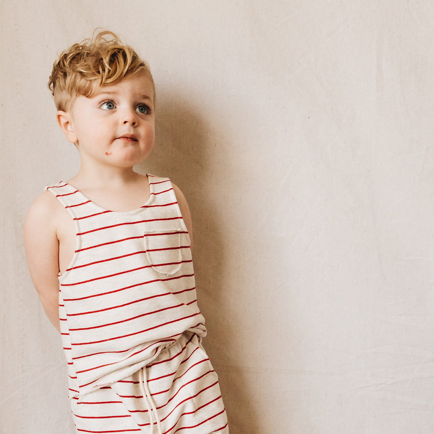 wilkes tank | red stripe