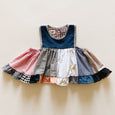 tank tunic | patchwork denim | size 4/5y