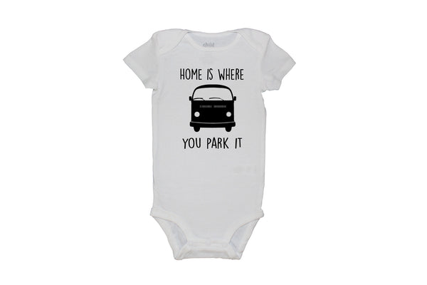 Home Is Where You Park It Bodysuit