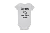 Jaguars Fan Since Birth Bodysuit