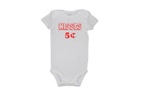 Kisses 5 ¢ Bodysuit