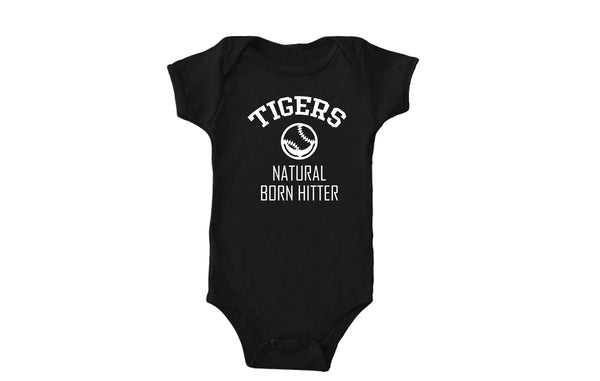 Tigers Natural Born Hitter Bodysuit