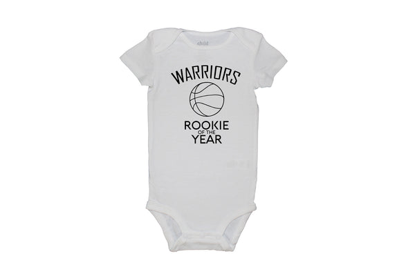 Warriors Rookie of the Year Bodysuit
