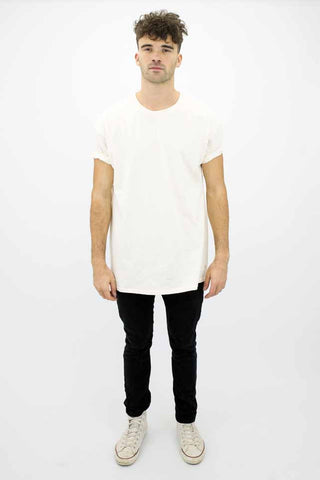 DEEP Basic Oversize Short Sleeved Mens T-Shirt in Natural