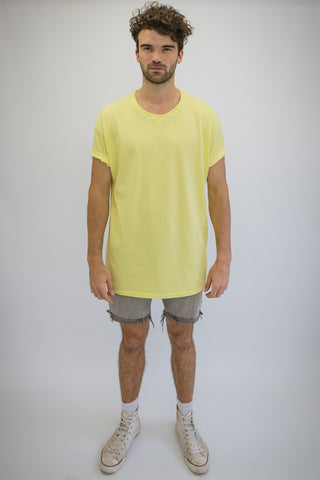 DEEP Oversize T-Shirt in Lemon
