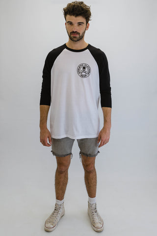 DEEP ATHLETIC Oversize Baseball T-Shirt - Black