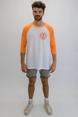 DEEP ATHLETIC Oversize Baseball T-Shirt - Orange