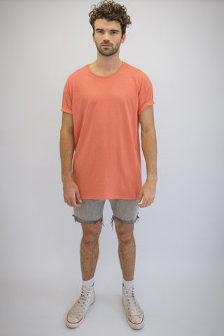 DEEP Oversize T-Shirt in Sunset Orange