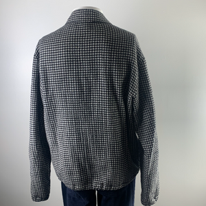 McQ Houndstooth Mens BomberJacket M