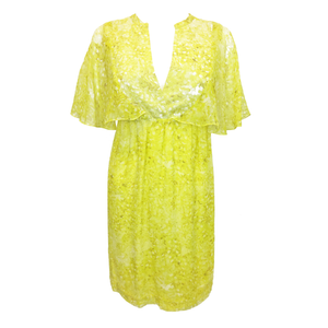 Giambattista Valli Yellow Dress Size XS
