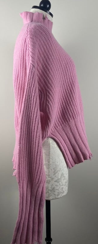 MSGM Pink Knit Sweater S