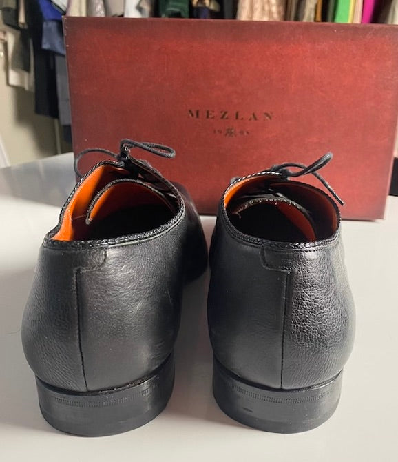 Mens Mezlan Black Dress Shoes Size 11