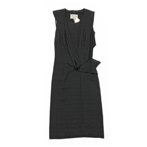 Maison Margiela Black Viscose Dress Size S