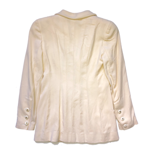 Chanel Cream Blazer Size S