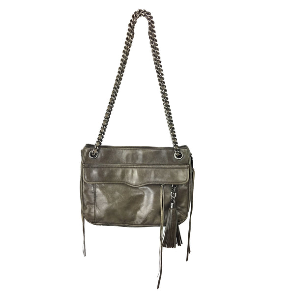 Rebecca Minkoff Grey Expandable Bag