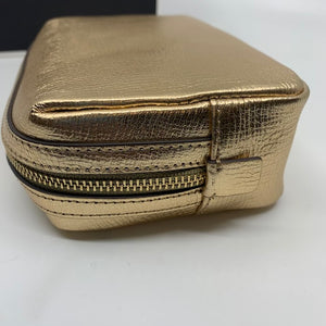 Anya Hindmarch Gold Pouch
