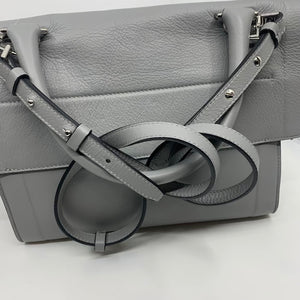 Givenchy Grey Shark Tooth Messenger Bag