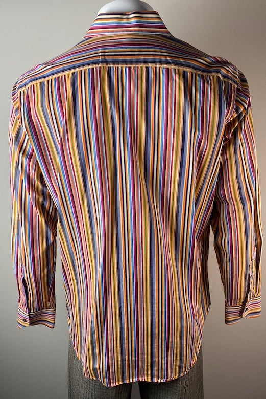 Mens Etro Striped Shirt M