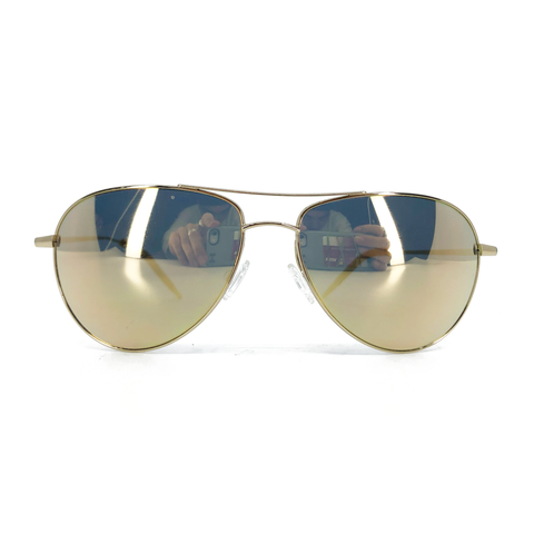 Oliver Peoples Reflective Aviator Sunglasses