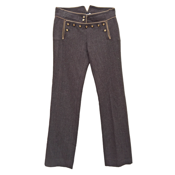 Dolce & Gabbana Brown Wool Pants Size 30