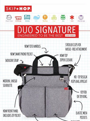 Duo Signature Diaper Bag by Skip Hop