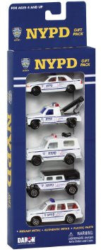 NYPD 5-Car Gift Pack