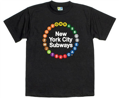 NYC Multi-Circle Subway T-Shirt