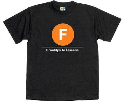 NYC Subway F Line T-Shirt