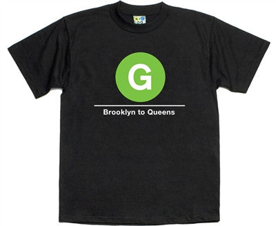 NYC Subway G Line T-Shirt