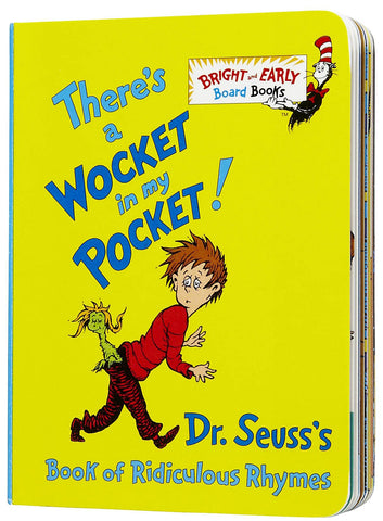 There's a Wocket in my Pocket! board book by Dr. Seuss