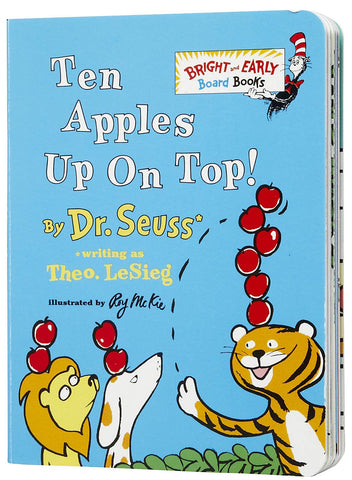 Ten Apples Up On Top! board book by Dr. Seuss