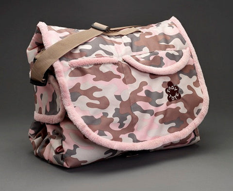 "Tady Tote - ""Cammo"" Print convertible play mat, diaper bag"