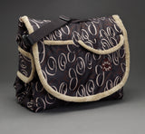 Tady Tote - Swirl Print convertible play mat, diaper bag