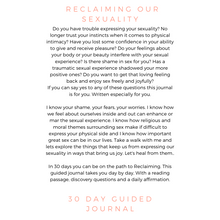 Load image into Gallery viewer, Practical Magic Reclaiming Our Sexuality 30 Day Guided Journal