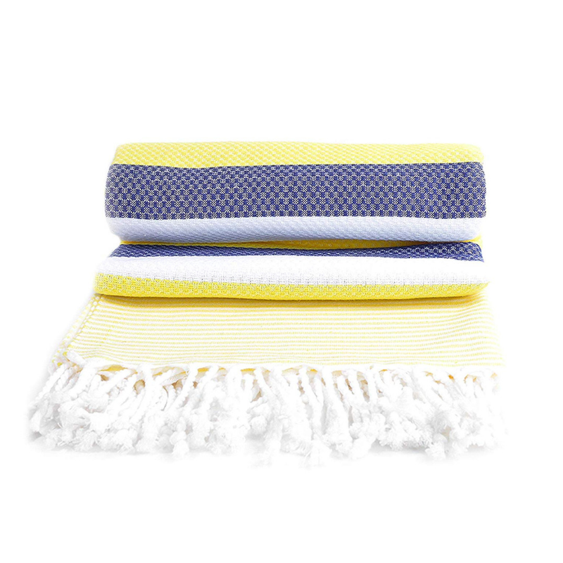 Copy of 100% Turkish Cotton Towel in Barbados - Boshemia Body