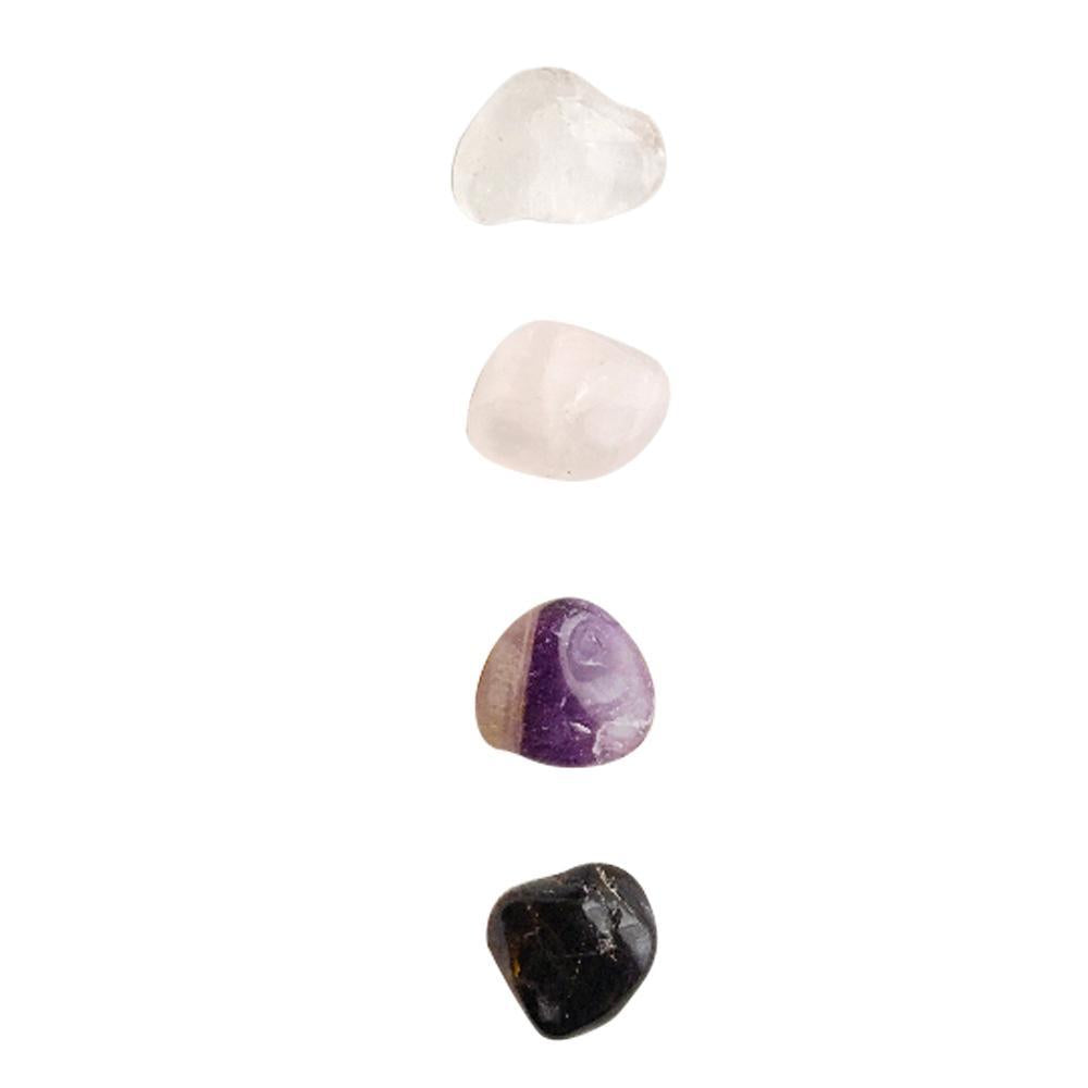 Let Go & Love * Rose Quartz, Black Onyx, Amethyst