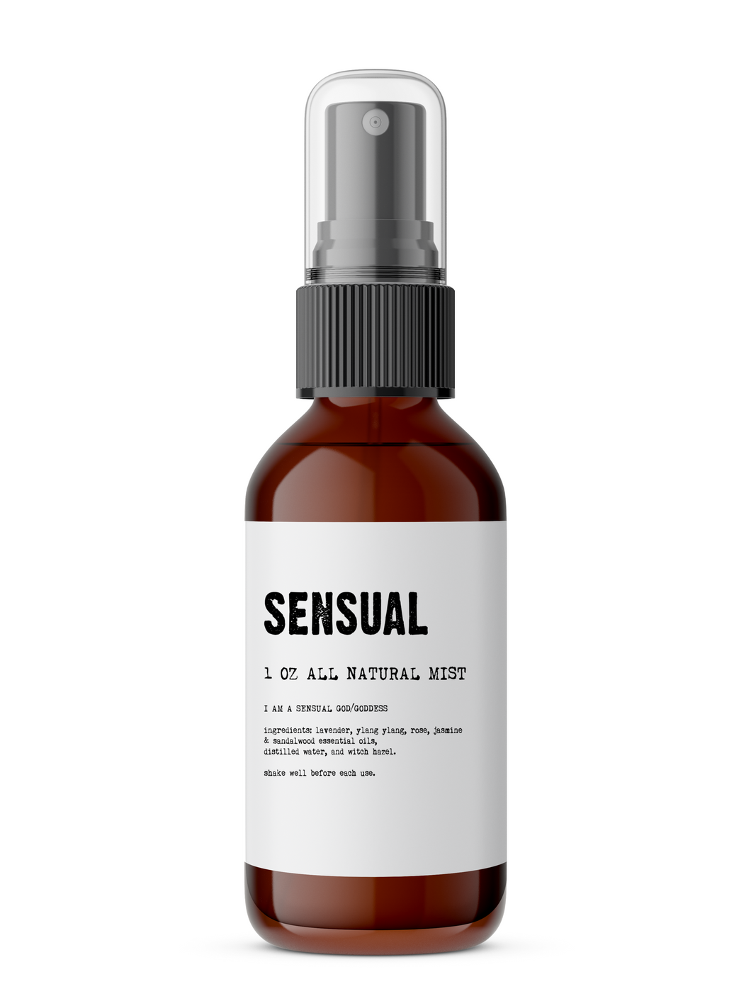 Sensual - Meditation/Body Mist - All Natural